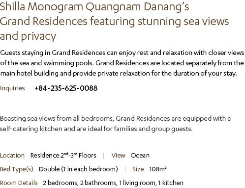Grand Residence Description