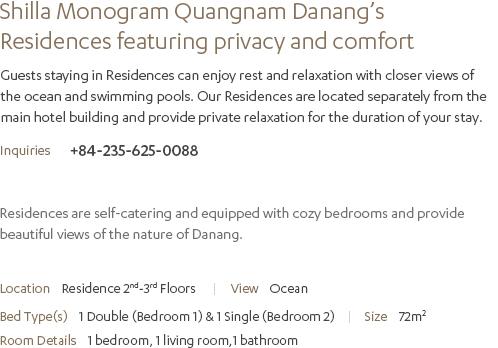 Residence Description
