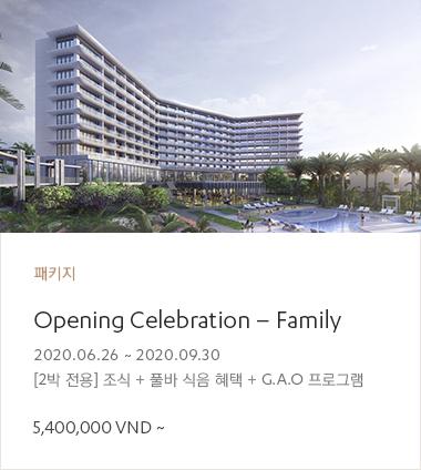 Opening Celebration - Family
