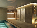 <p>An indoor sauna that soothes and refreshes</p>